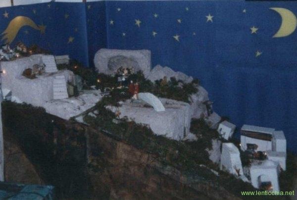 1995 presepe in polistirene