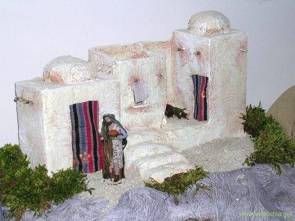 2007 presepe in carta pesta (1a versione)