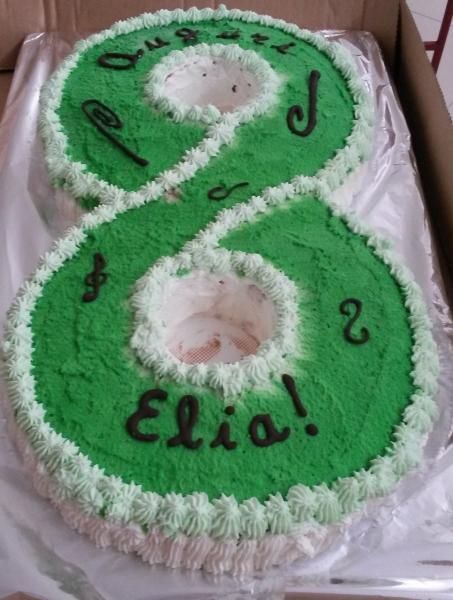 Compleanno di Elia 8 anni